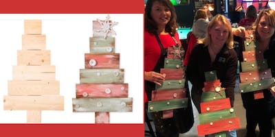 Paint and Sip Wood Tree with Any Colors