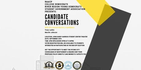 Candidate Conversations (City Council District 3) tickets
