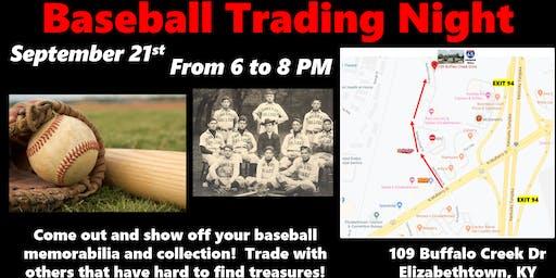 Baseball Trading Night