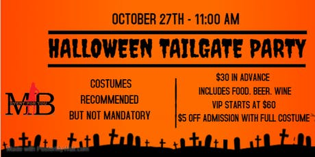Falcons vs SeaHawks Halloween Tailgate Party tickets