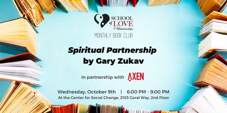 Book Club: Spiritual Partnership by Gary Zukav tickets