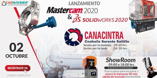 Lanzamiento SolidWorks & Mastercam 2020, Saltillo (Coahuila)