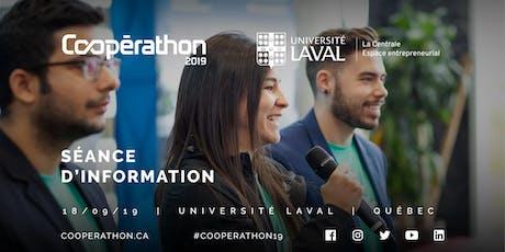Coopérathon - Séance d'information Université Laval billets