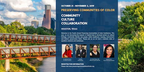 2019 Preserving Communities of Color Conference tickets