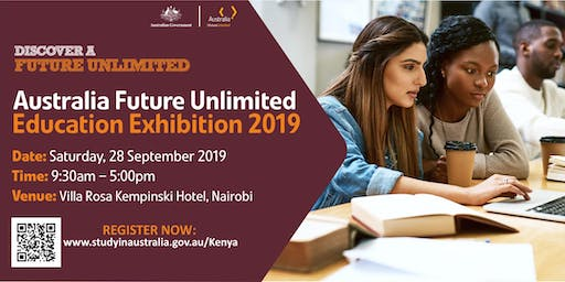 Australia Future Unlimited Education Exhibition 2019 - Nairobi