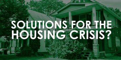 Solutions for Housing Crisis? tickets