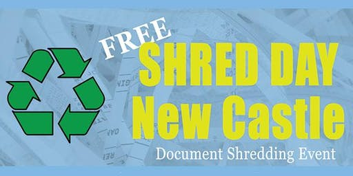 Shred Day New Castle - Free Paper Shredding
