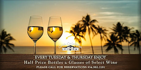 Romantic Tuesdays and Thursdays - 50% OFF on Wines! tickets