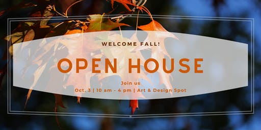 Open House - Make & Take Projects, Shopping, Snacks & Drinks