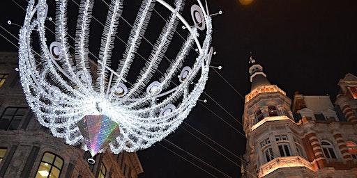 A Foodie Themed Christmas Lights Walk