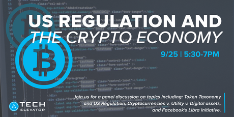 US Regulation and the Crypto Economy  - Cincinnati  tickets