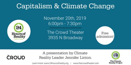 Capitalism & Climate Change: A Climate Reality Project Presentation tickets