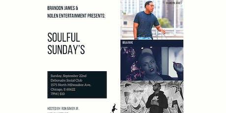 Soulful Sunday's with Brandon James @ Debonair Social Club tickets