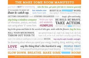 Make Some Room Workshop