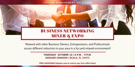 Business Networking Mixer & Expo tickets