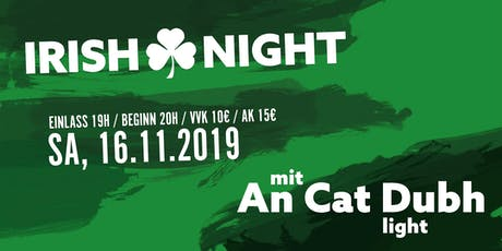 Irish Night in der Kulturscheune Karben Tickets