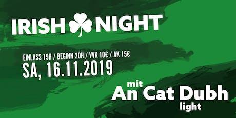 Irish Night in der Kulturscheune Karben Tickets