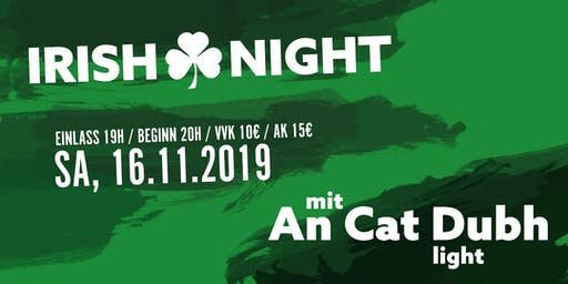 Irish Night in der Kulturscheune Karben