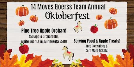 14 Moves Goerss Team Annual OKTOBERFEST! tickets