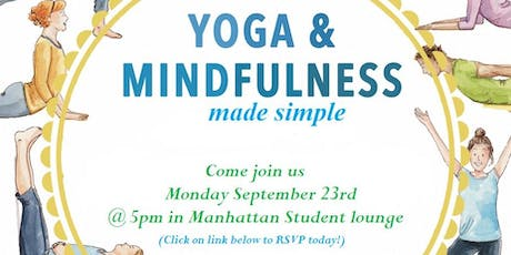 Yoga & mindfulness made simple tickets