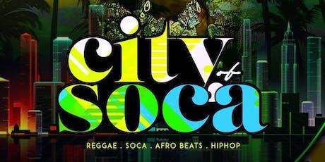 CITY OF SOCA tickets