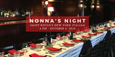 Nonna's Night  tickets