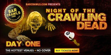 Barcrawls.com Presents The Charleston Halloween Bar Crawl Day 1 tickets