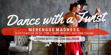 Dance with a Twist - Merengue Madness  tickets