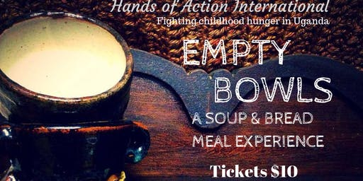 Empty Bowls Soup and Bread Meal Experience