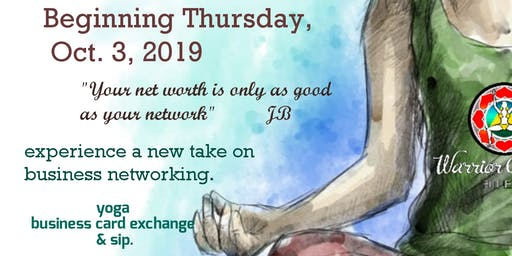 1st Thursday Network Yoga & Sip