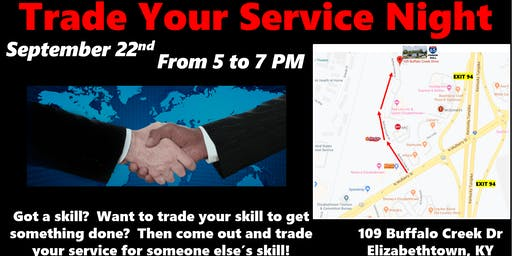 Trade Your Services Night