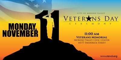 12th Annual Veterans Day Ceremony