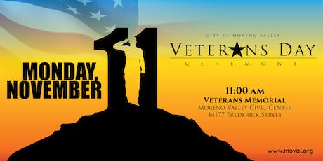12th Annual Veterans Day Ceremony tickets