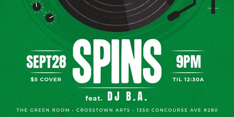 SPINS feat. DJ B.A. tickets