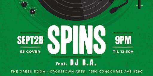 SPINS feat. DJ B.A.