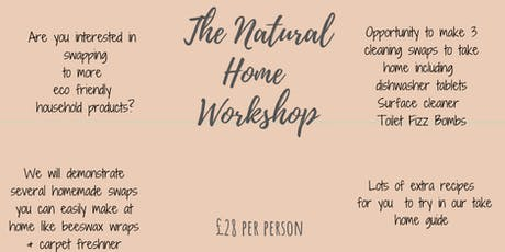 Molly and Me Candles presents The Natural Home Workshop tickets
