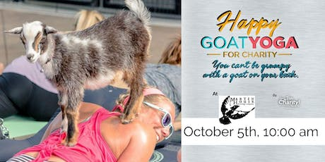 Happy Goat Yoga-For Charity at Martin House Brewing tickets
