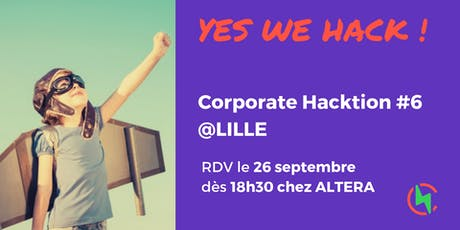 CH#6 Yes We Hack ! tickets