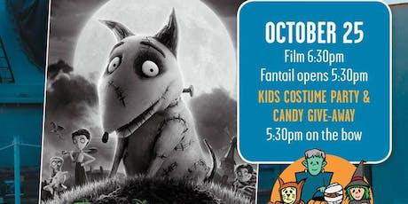 Movies Under the Guns: Frankenweenie - Halloween Bash tickets