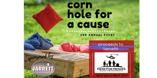 Corn Hole for a Cause 2019