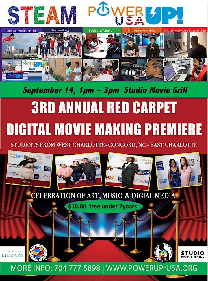 2019 PowerUP USA Student Red Carpet Presentation image