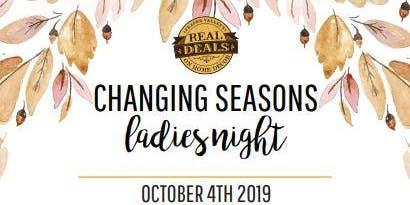 Changing Seasons Ladies Night