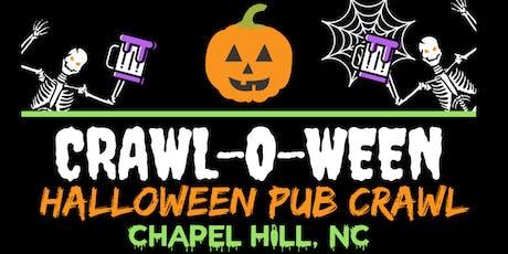 Crawl-O-Ween - Chapel Hill [Halloween Pub Crawl] tickets