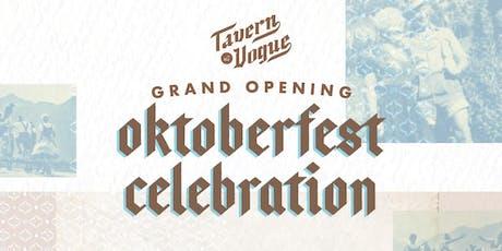 Grand Opening Oktoberfest Celebration tickets