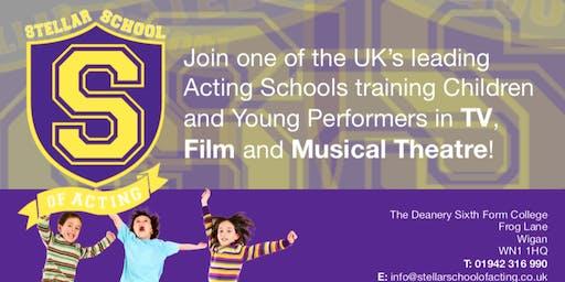 Stellar School of Acting - FREE Open Day!