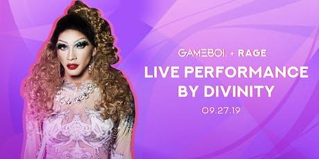 GAMEBOI® LA @ Rage Nightclub 09.27 w/ Divinity tickets