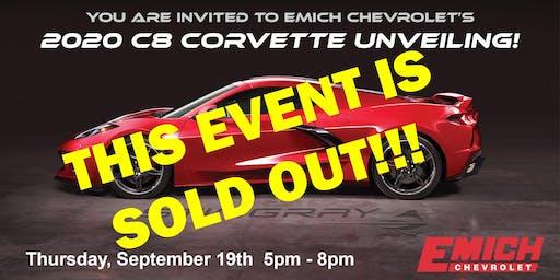 2020 C8 Corvette Unveiling