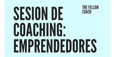SESION  GRATIS  DE COACHING PARA EMPRENDEDORES!! boletos