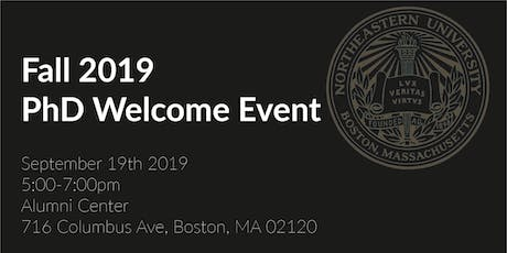 PhD Fall 2019 Welcome Event tickets