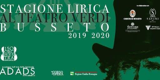 STAGIONE LIRICA AL TEATRO BUSSETO